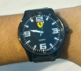 Relógio Masculino Ferrari Acompanha Chaveiro