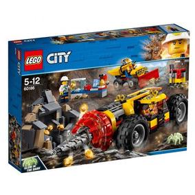 Brinquedo Lego City Perfuradora Pesada De Mineração 60186