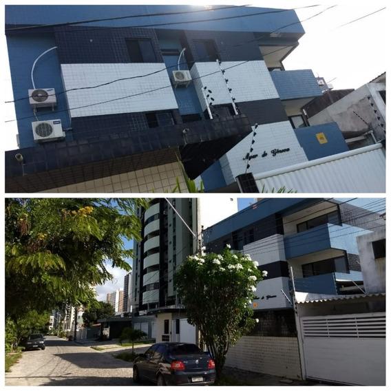 Ótimo Apartamento Térreo No Bessa, Com 140m² A 400 Metros Do
