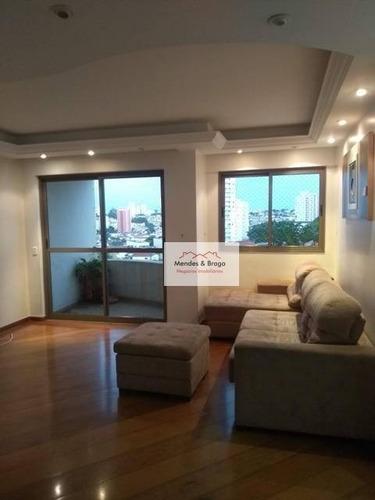 Imagem 1 de 19 de Apartamento À Venda, 86 M² Por R$ 589.000,00 - Tatuapé - São Paulo/sp - Ap2480