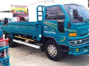 Camion Azul Cama Larga