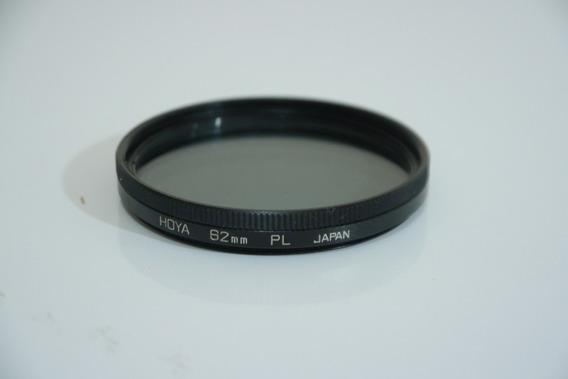 Filtro Hoya Pl Polarizador 62mm Japan