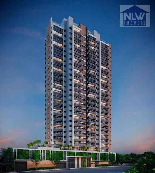 Apartamento Com 2 Dormitórios À Venda, 70 M² Por R$ 705.000 - Brooklin - São Paulo/sp - Ap2082