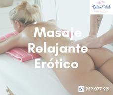 Masaje Relajante Erótico Para Damas
