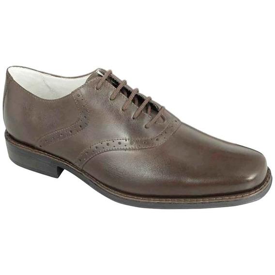 Sapato Social Masculino Oxford Sandro Moscoloni Arron Marrom