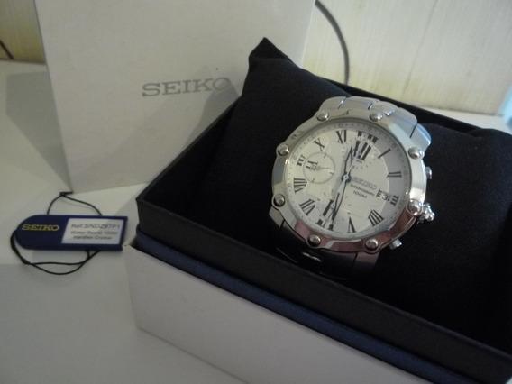 Relógio Cronógrafo Seiko Original - Estado De Novo