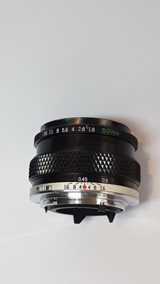 Lente Olympus Zuiko 50mm 1.8