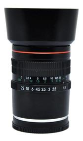Lente Igual Rokinon 85mm F1.8 Nex-6 A6300 A5000 A6000 A7r A7