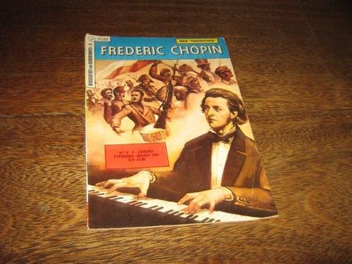 Biografias Em Quadrinhos Nº 8 Frederic Chopin Jane/1960 Ebal