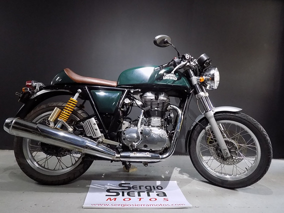 Royal Enfield Continental Gt500 Verde 2017