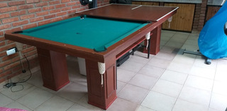 Mesa De Pool -ping Pong Tissus