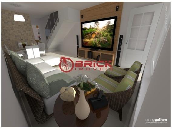 Linda Casa Recém Construída Em Condomínio Em Itaboraí. A Partir De R$ 199.000,00. - Ca01070 - 34204625