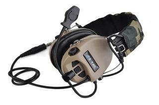 Headset Ztac Ztactical Z111 Ztac Sordin, Headset C Ampliador