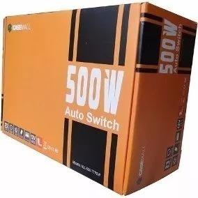 Fonte Atx Casemall 500w Auto Switch Cod:50