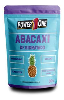 Frutas Desidratadas Abacaxi, Banana Ou Maçã 30g - Power One