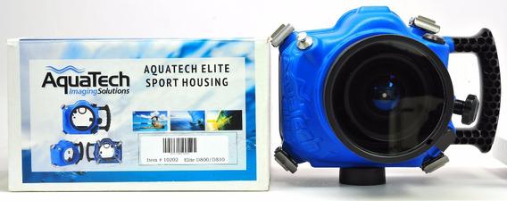 Aquatech Caixa Estanque Subaquática Para Nikon D800 D810