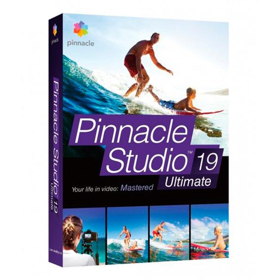 Pinnacle Studio 19 Ultimate Para Edição De Vídeo- Original