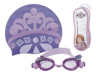 Gafa De Natación Disney Princesa Sofia Set 3 Pcs