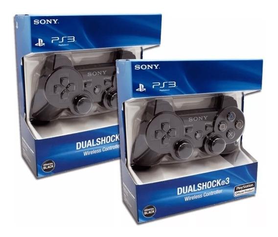Joystick Para Ps3 Dualshock En Caja Cerrada Con 5 Sucursales