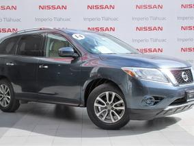 Nissan Pathfinder, Buenisima,con Garantía, Interior En Piel*