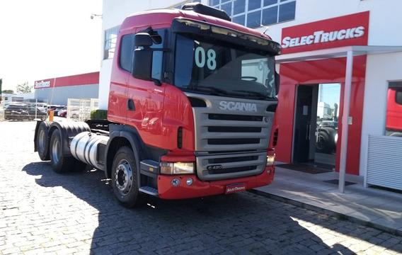 Scania G420 6x2 Selectrucks