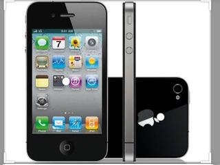 Celular iPhone 4 S Preto, Conservado 16gb