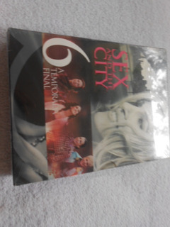 Sex And The Sity 6 A Temporada Final Box Novo Original 5 Dvd