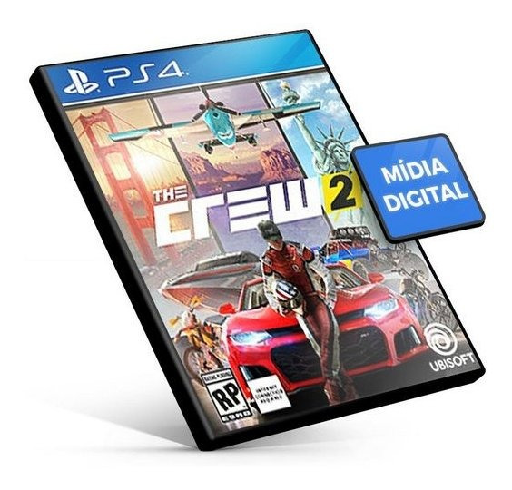 The Crew 2 Ps4 Psn Original 1 Português