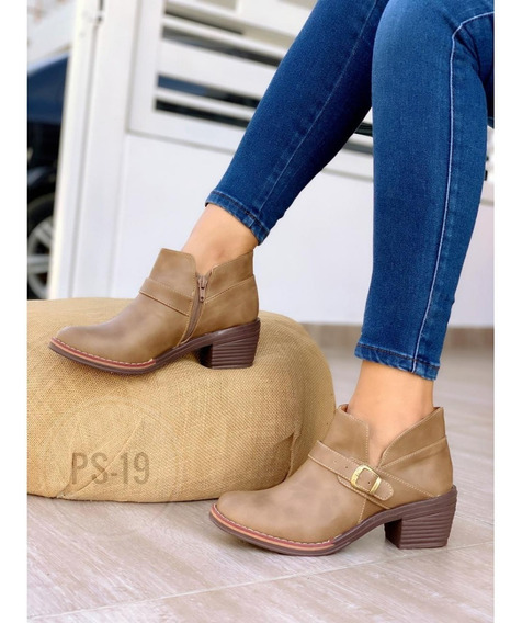 Zapatos Botines Para Dama Calzado Colombiano