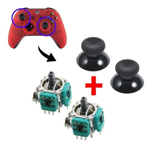 2 Analogo + Capuchas Palanca Stick Joystick Control Xbox One