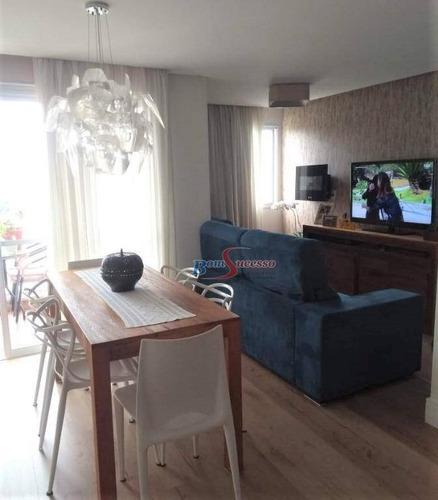 Apartamento Com 2 Dormitórios À Venda, 63 M² Por R$ 470.000,00 - Vila Santa Clara - São Paulo/sp - Ap2174