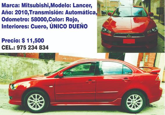 Mitsubishi,modelo: Lancer,