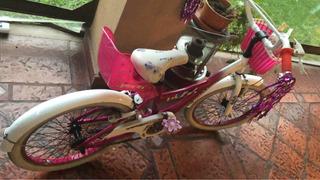 Bicicleta Raleigh Niña Rodado 20