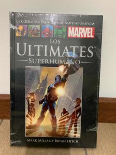 Libro Marvel Salvat Cómics Los Ultimates Superhumano