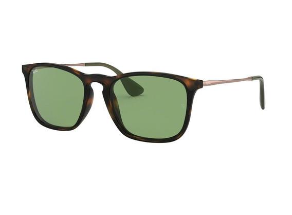 Óculos De Sol Ray Ban Rb4187 6393 (verde, Marrom)