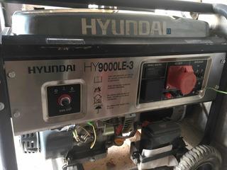 Generador Trifasico Hyundai Hy 9000 Le-3