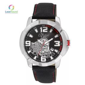 Relógio Masculino Condor Co2415bk/8p, C/ Garantia E Nf