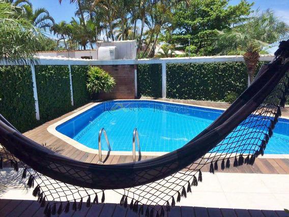 Linda Casa Com 3 Suítes Lado Praia Em Itanhaém - Cod: 335 - V335