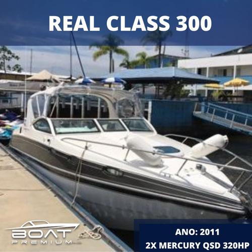 Real Class 300, 2011, 1x Mercury Qsd 320hp - Raptor Phantom
