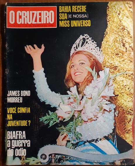 O Cruzeiro 1968 - Miss Universo - Marta Vasconcelos