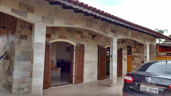 Casa Em Flórida Mirim, Mongaguá/sp De 150m² 4 Quartos À Venda Por R$ 400.000,00 - Ca234469
