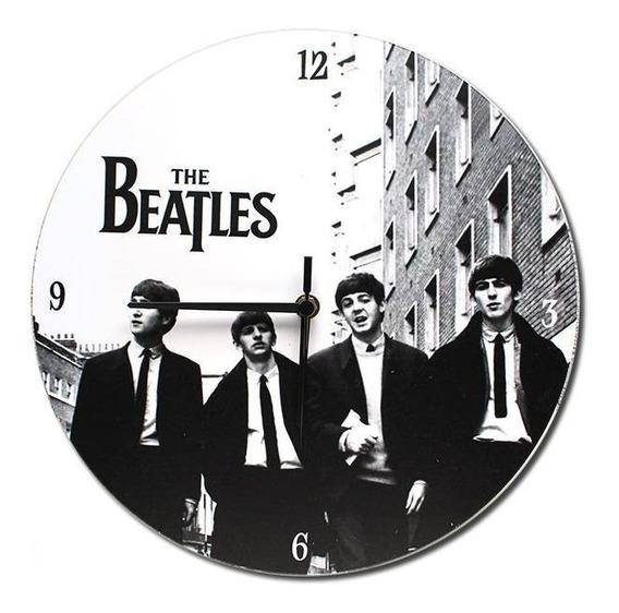 Relógio All Classics Beatles Branco E Preto