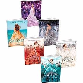 Coleção A Seleção + A Sereia - 6 Livros - Kiera Cass