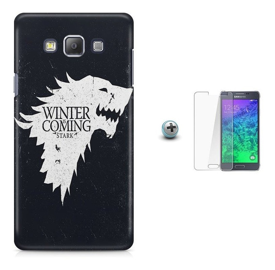 Kit Capa Tpu A7(a700)game Of Thrones + Pel.vidro (01)