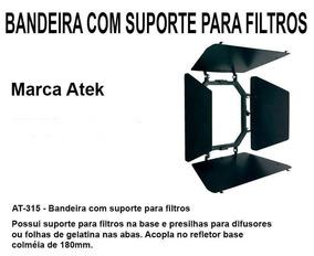 Refletor - Bandeira Com Suporte Para Filtros