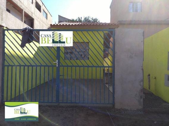 Casa Com 2 Dormitórios À Venda, 61 M² Por R$ 190.000 - Jardim Vassouras - Francisco Morato/sp - Ca0290