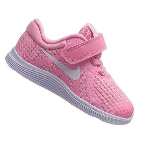 Tênis Nike Revolution Menina Tdv Rosa 943308603 Original