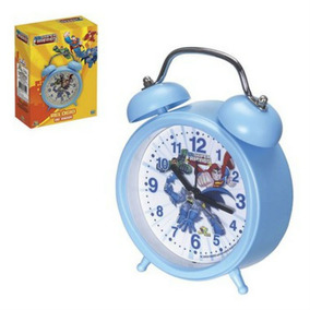 Relógio De Mesa Despertador Infantil Liga Da Justiça