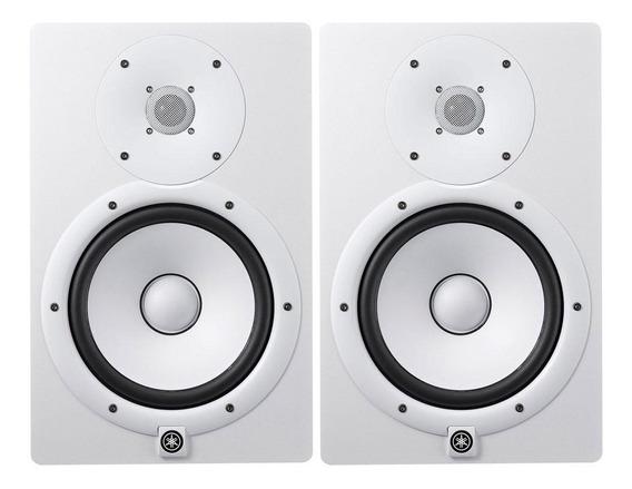 Monitor De Referência Ativo Yamaha Hs8 Branco 110v Par