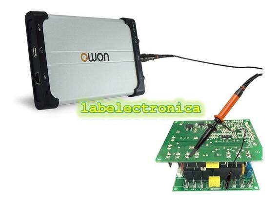 Osciloscopio Digital Usb 2 Canales 60mhz P/ Pc Owon Vds2062